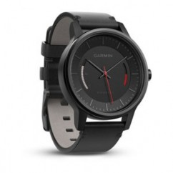 Часы спортивные Garmin vivomove Classic Black (Rose Gold-Tone) with Leather Band