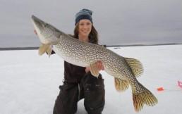 Особенности зимней рыбалки на щуку: где, когда и на что