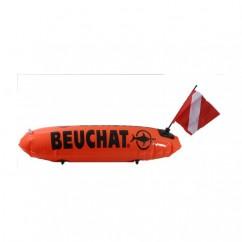Буй Beuchat длинный с флажком, нейлоновый линь