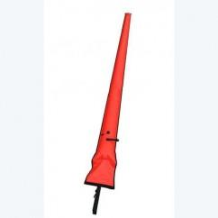 Буй OMS Divers Alert Marker,16' (4,80 м), открытый, оральный поддув