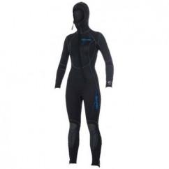 Гидрокостюм женский Bare Sport Hooded Full Lady 5 mm, 7 mm