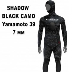 Гидрокостюм Epsealon Shadow Yamamoto 039 Black Camo 7 мм