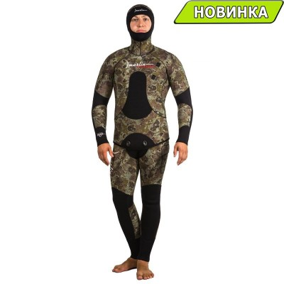 Гидрокостюм Marlin CAMOSKIN GREEN 9 mm