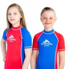 Лайкровый костюм Scorpena укороченный kids blue