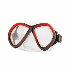 Маска Marlin CUBA clear sil (red, yellow)
