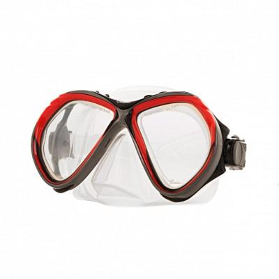 Маска Marlin CUBA clear sil (red, yellow)