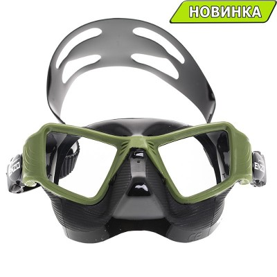 Маска Marlin ENZO black/green