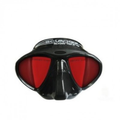 Маска Esclapez diving Minisub Red Flash