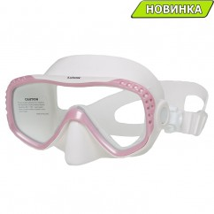 Маска Marlin LOOK (pink/white, yellow/trans)