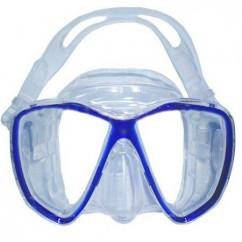 Маска Sopras BRAVA clear sil./blue (30640B)