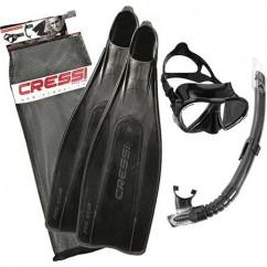 Набор Cressi Sub Pro Star черный