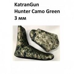 Носки KatranGun Hunter Camo Green: 3mm, 5mm, 7mm, 9mm, 10mm