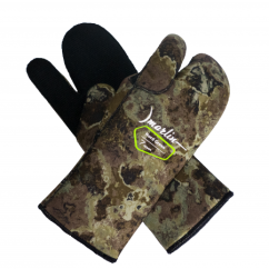 Перчатки Marlin NORD трехпалые 7mm (GREEN, OLIVA, BROWN)