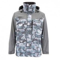 Куртка Simms Challenger Jacket Hex Flo Camo Grey Blue