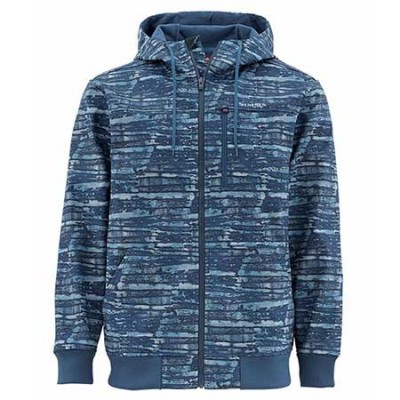 Куртка Simms Rogue Fleece Hoody Water Print Dusk