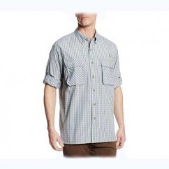 Рубашка Exofficio Men's Air Strip Micro Plaid Voltage