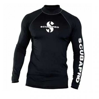 Реглан Scubapro Rash Guard Man черный