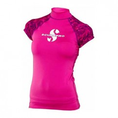 Футболка Scubapro Rash Guard Women фламинго