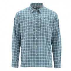 Рубашка Simms BugStopper Shirt Storm Plaid