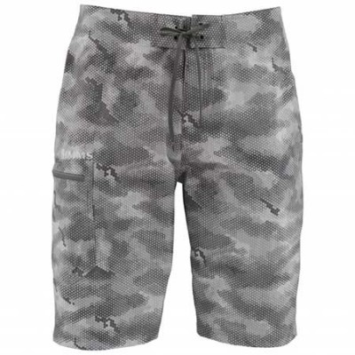 Шорты Simms Surf Short Prints Hex Camo