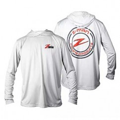 Блуза Z-Man UPF50 Hoodiez Pearl Gray