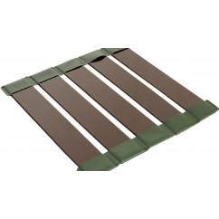 Cлань-коврик KOLIBRI КМ-330 коричневый ( светло-серый)