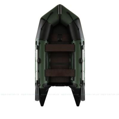 Надувная моторная лодка C-310 зеленая без настила