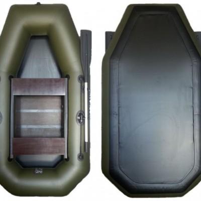 Лодка надувная гребная Мрия A-245 СТ Кречет с навесом транцем