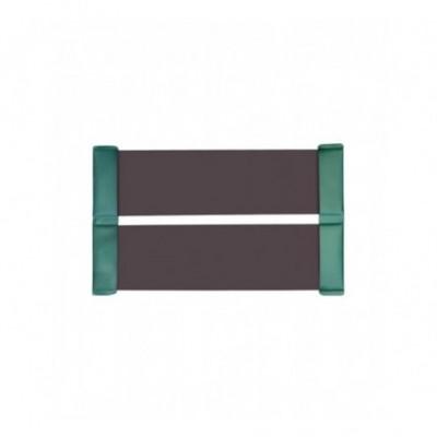 Cлань-коврик KOLIBRI КМ200 коричневый, светло-серый
