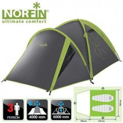Палатка алюминиевая 3-х местная Norfin Carp 2+1 Alu NF