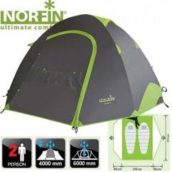 Палатка алюминиевая 2-х местная Norfin Smelt 2 Alu NF