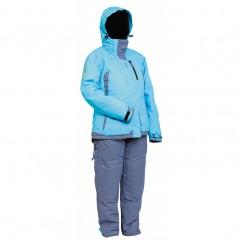 Костюм женский зимний Norfin SNOWFLAKE (голубой) -30 °