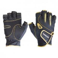 Перчатка спиннингиста Fishing ROI 301-WK-04 black-gold (б/пальц.)