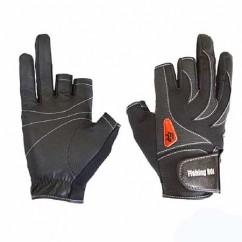 Перчатка спиннингиста Fishing ROI 301-WK-05 black (c 2 пальц.)