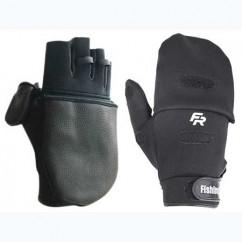 Перчатки спиннингиста Fishing ROI WK-06 black