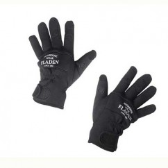 Перчатки Fladen Neoprene Gloves Black Split Finger