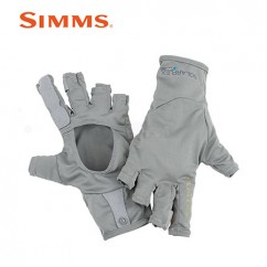 Перчатки Simms Bugstopper Sun Glove Smoke