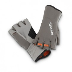 Перчатки Simms ExStream Half Finger Glove Dark Gunmetal