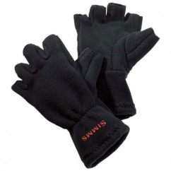 Перчатки Simms Freestone Half-Finger Glove Black