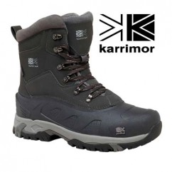 Ботинки зимние Karrimor Snowfur II weathertite Black Sea
