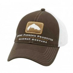 Кепка Simms Trout Trucker Cap Bark