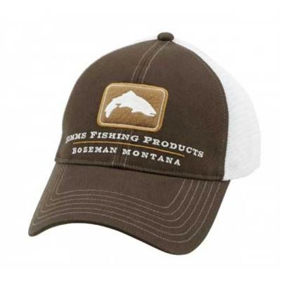 Кепка Simms Trout Trucker Cap Bark