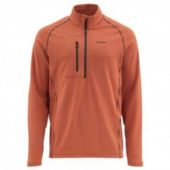 Блуза Simms Fleece Midlayer Top Simms Orange