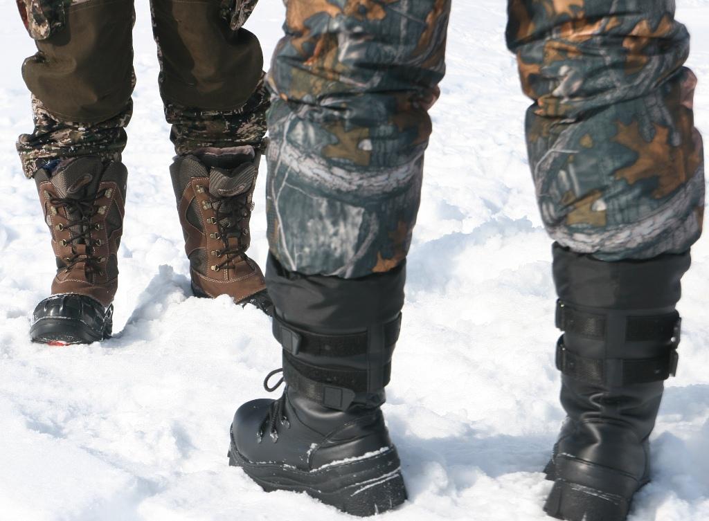 Брендовая обувь для зимней рыбалки